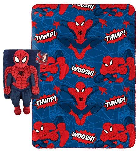Marvel Spiderman 2 Piece Travel Snuggle Set