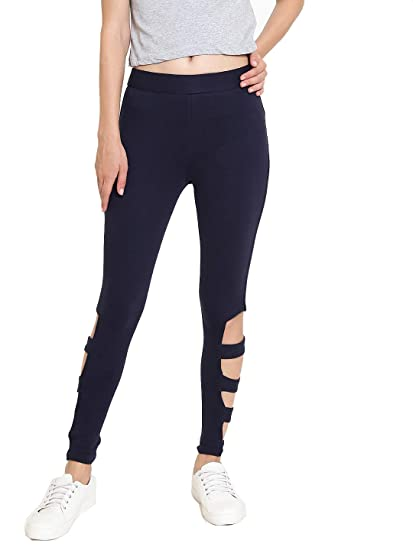 b61e22aa332ee Rider Republic Navy Blue Jeggings 502076C: Amazon.in: Clothing ...