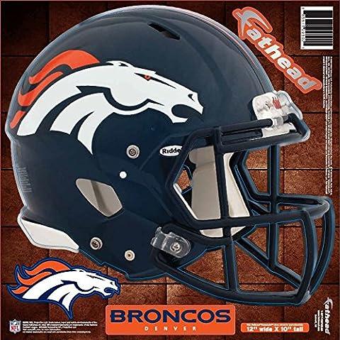 NFL Denver Broncos Fathead Helmet Decal (Nfl Helmets Kids)