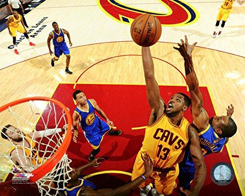 "Tristan Thompson Cleveland Cavaliers 2015 NBA Finals Action Photo (Size: 8"" x 10"")"