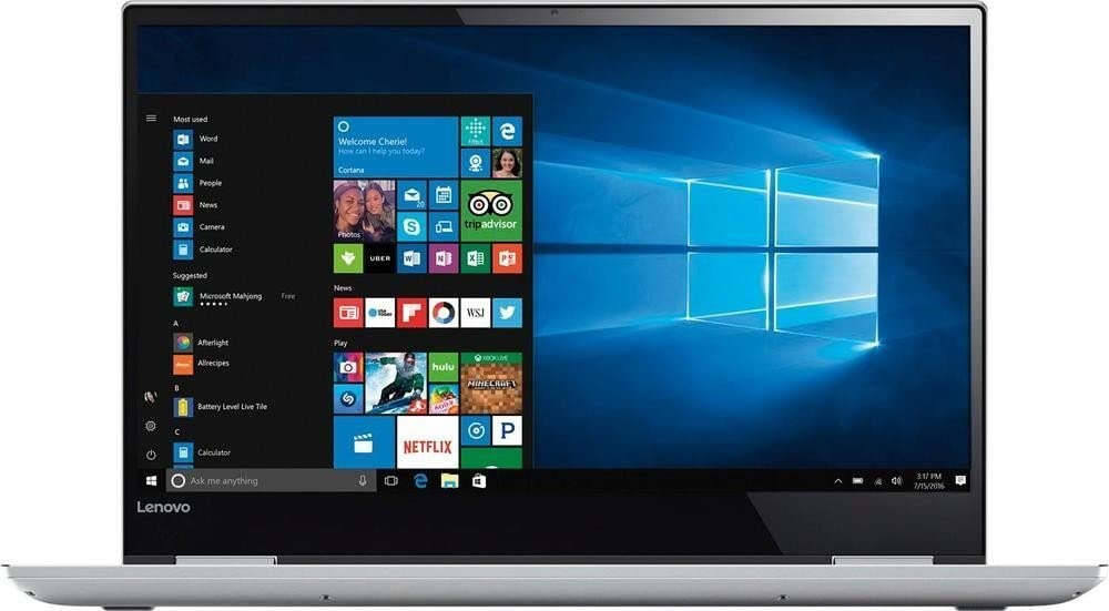 Lenovo Yoga 720 2-in-1 15.6in 4K UHD IPS Touchscreen Ultrabook, Intel i7-7700HQ 16GB RAM 512GB SSD NVIDIA GeForce GTX 1050 Thunderbolt Fingerprint Reader Backlit Keyboard Win10 (Renewed)