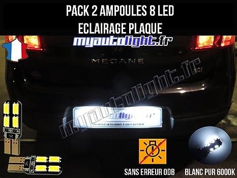 : MyAutoLight Pack ampoules led éclairage plaque