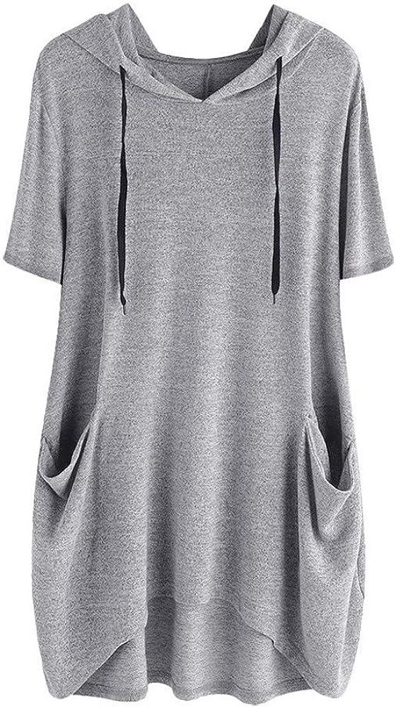 Camiseta para Mujer Falda de señora Vestido Falda Larga con ...