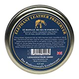 COLOURLOCK Elephant Leather Preserve (Wax) to Restore, Care, Nourish & Waterproof Leather car Interior, Handbags, Chesterfield Sofas, etc (125 ml)