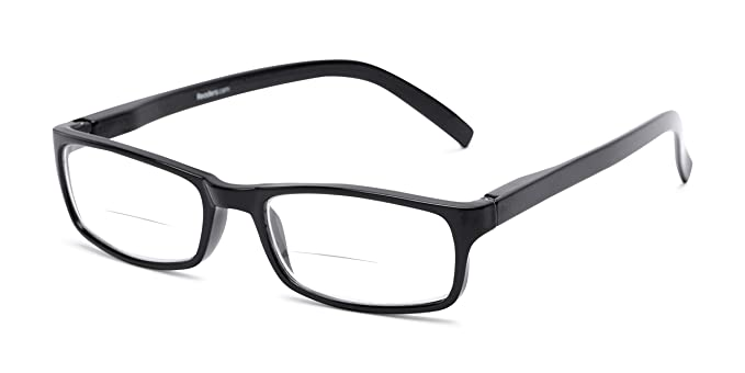 c19a81d6ad6a Readers.com Bifocal Reading Glasses: The Vancouver Bifocal for Men and  Women - Stylish