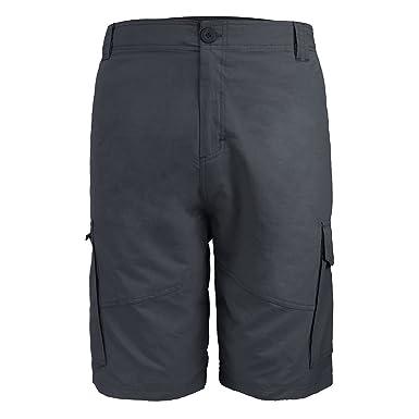 7cebc4ac93 Urimoser Men's Classic Fit Cargo Shorts Twill Nylon Shorts (Black, 30)