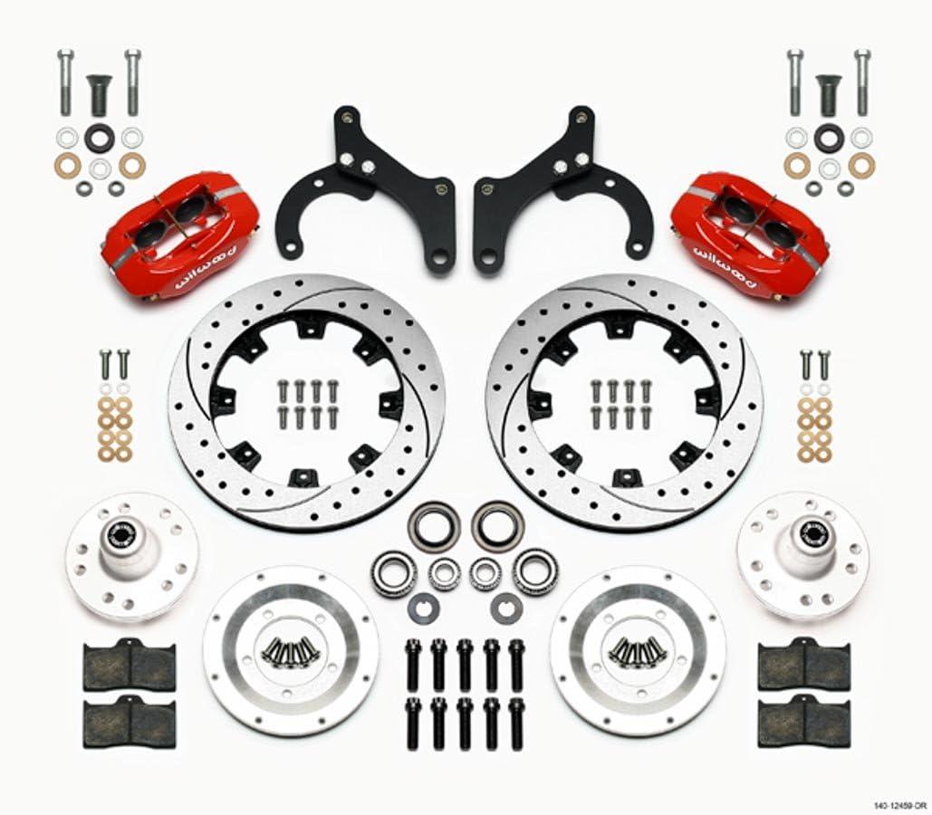 63-64 Vette 12.19in Wilwood 140-12459-DR Front Disc Brake Kit