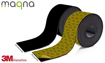 Farbe:Rot Farbiges Magnetband 40mm breit zum Beschriften und Zuschneiden