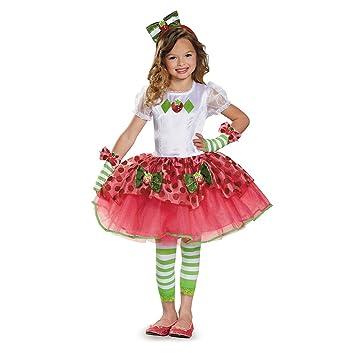 Disguise 84499K Strawberry Shortcake Tutu Prestige Costume, Medium (7,8) by  Disguise