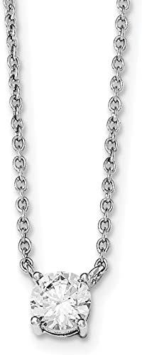Jewelry Necklaces Chains Sterling Silver Fancy 16.5 Necklace