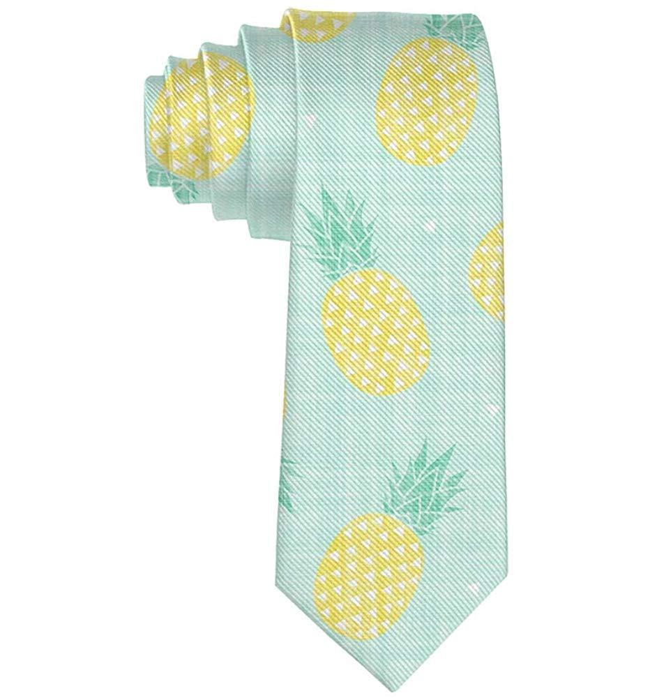 Regalo de corbata de caballero casual de seda de poliéster de piña ...