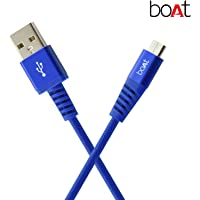 boAt Rugged V3 Braided Micro USB Cable (Cobalt Blue)