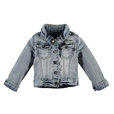 4b5cf089ddd4 Babyface - Blouson - Veste en jean - Fille - Bleu - One Size  Amazon.fr   Vêtements et accessoires