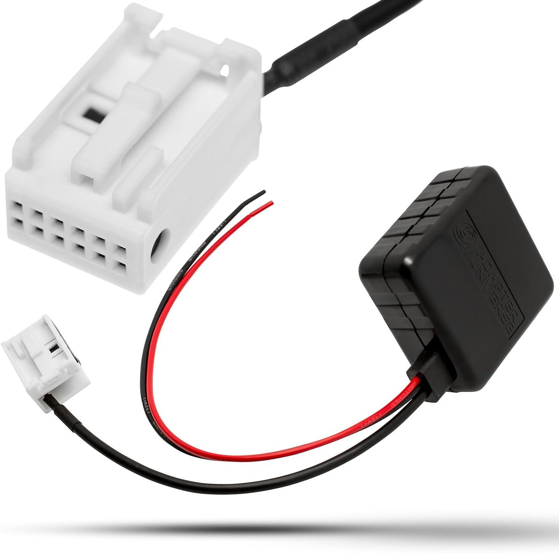 filtre Pour Vw Radio Rcd RNS 300 310 510 Bluetooth Adaptateur AUX In amplificateur
