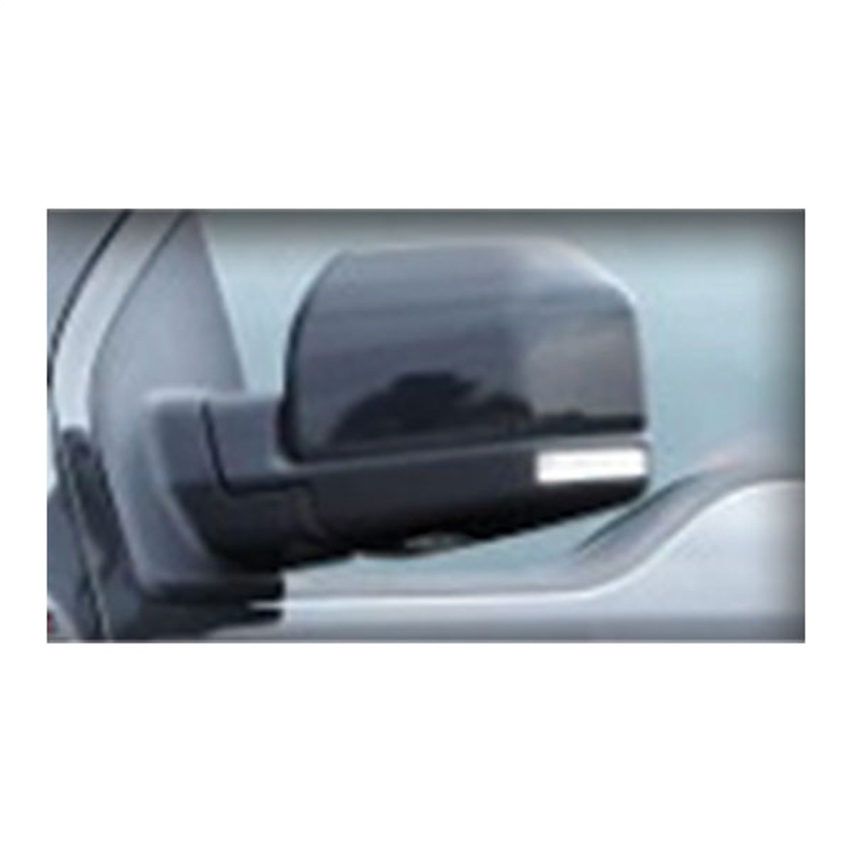 CIPA 11551 Black Custom Towing Mirror Sleeve