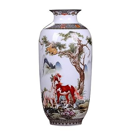 Amazon.com: ECYC Chinese Vintage Style Vase 10