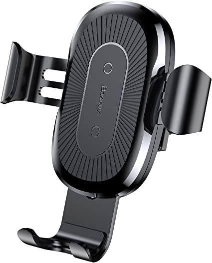 Automatic Clamping Gravity Sensor Car Phone Mount Baseus Wireless Car Charger Mount
