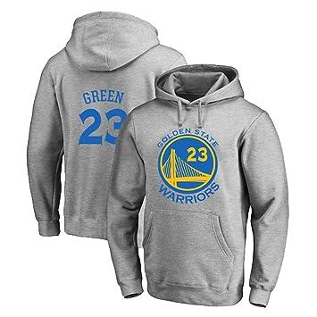 TSHULY Jersey con Capucha NBA Warriors 23# Green Camiseta de ...