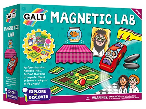 Galt Explore and Discover Magnetic Lab Science Experiment Kit