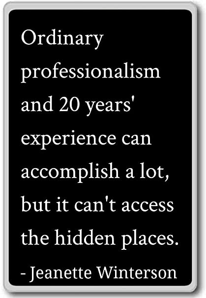 Professionalism Quotes | Amazon Com Ordinary Professionalism And 20 Years E Jeanette