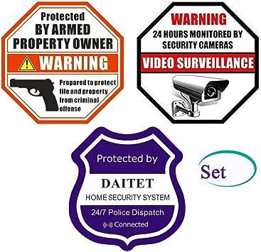 Gun Warning Decal Trespassers Beware Think Twice Because I Wont window Sticker