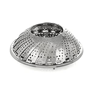 ZYLISS Stainless Steel Vegetable Steamer, 11-inch