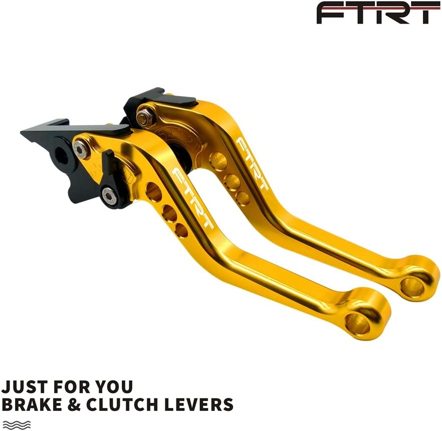 MT-03//MT-25 2015-2018 Gold FTRT Short Brake Clutch Levers for Yamaha YZF R3 YZF-R3 2013 2014 2015 2016 2017 2018,YZF-R25 YZF R25 2013-2018