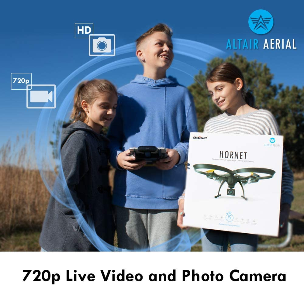 Altair Aeial 818 hornet is at #2 for best drones under 150 dollars