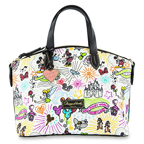 - Disney Sketch Nylon Satchel by Dooney and Bourke