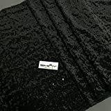 ShinyBeauty Aisle Runner Customize-100ftx4ft,Wedding Aisle Runner Ceremony Decoration Marriage Party Decor Carpet Roll-Black
