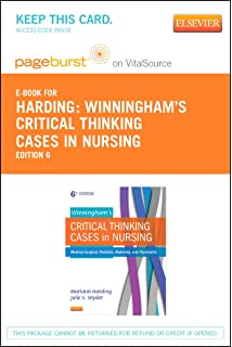 Winninghams critical thinking cases in nursing medical surgical winninghams critical thinking cases in nursing elsevier ebook on vitalsource retail access card fandeluxe Gallery