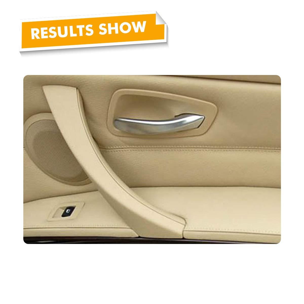 MODIFY-GT C/ôt/é droit et gauche Beige Porte int/érieure Panneau Poign/ée Garniture Garniture Porte-bagages et porte c/ôt/é conducteur Poign/ée de porte