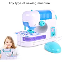FnieYxiu Educational Toys, Girls Electric Sewing Machine Toy Pretend Play Game Simulation Home Furniture