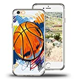 Case for iPhone 6s Viwell iPhone 6s/6 (4.7 inch) Case 2015 Personality Abstract Cool Cartoon Basketball