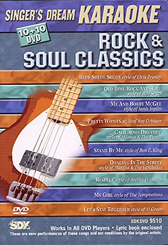 Rock & Soul Classics (Karaoke DVD) (Classics Karaoke Dvd)