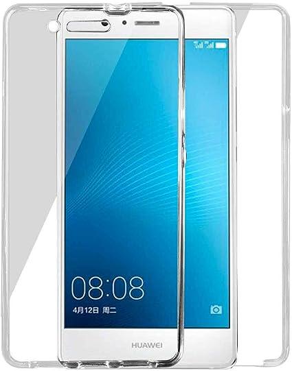 Cover fronte retro in silicone per Huawei P9 Plus in TPU ...