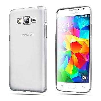 ELECTRÓNICA REY Funda Carcasa Gel Transparente para Samsung ...