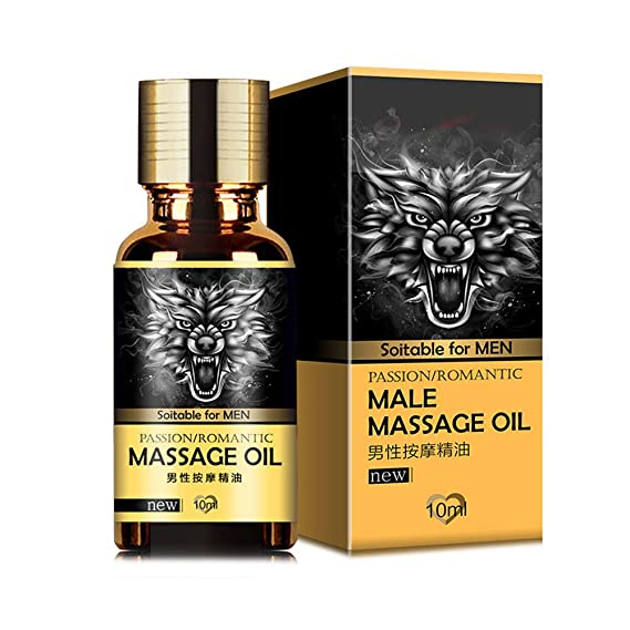 Productos para Adultos POLP Male Growth Penis Extender Aumentar Herbal Essential Oil para los Hombres Aceite de Masaje SPA Essential Oils 10ml Aceite ...