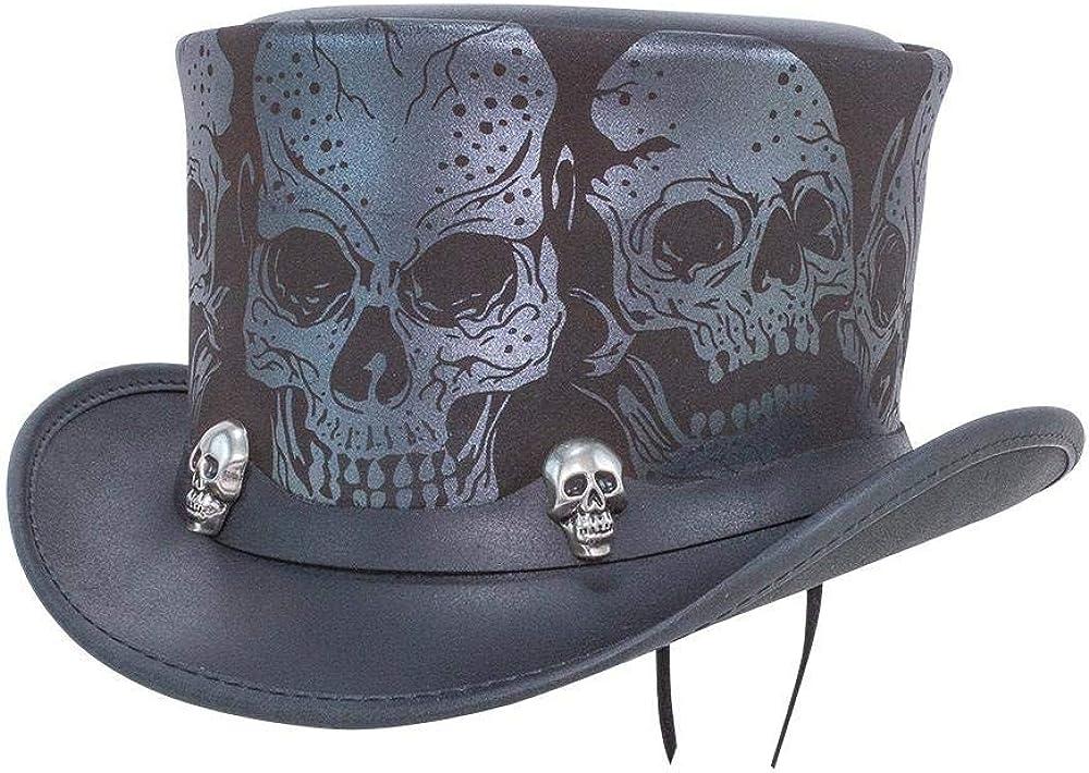 Voodoo Hatter Silver Skull...