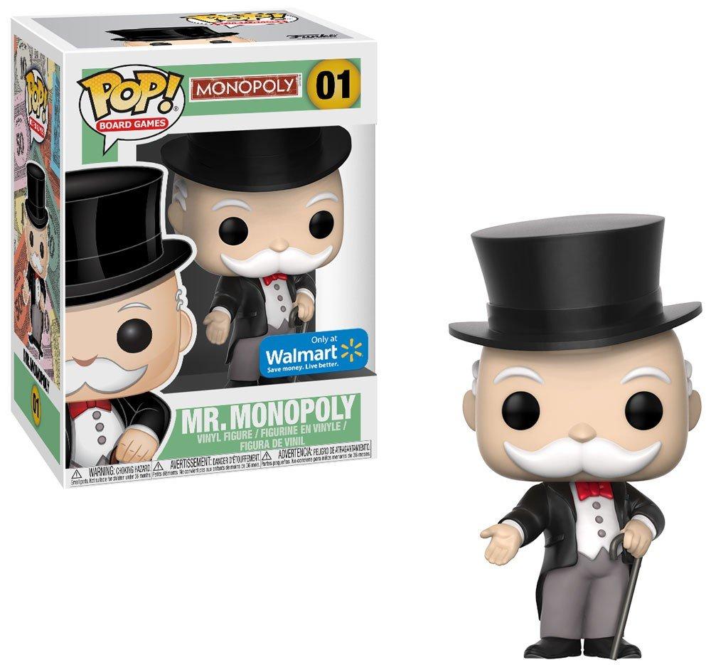 FunKo Pop Vinile Mr PennyBags Monopoly Figure USA Exclusive e molto difficile da trovare
