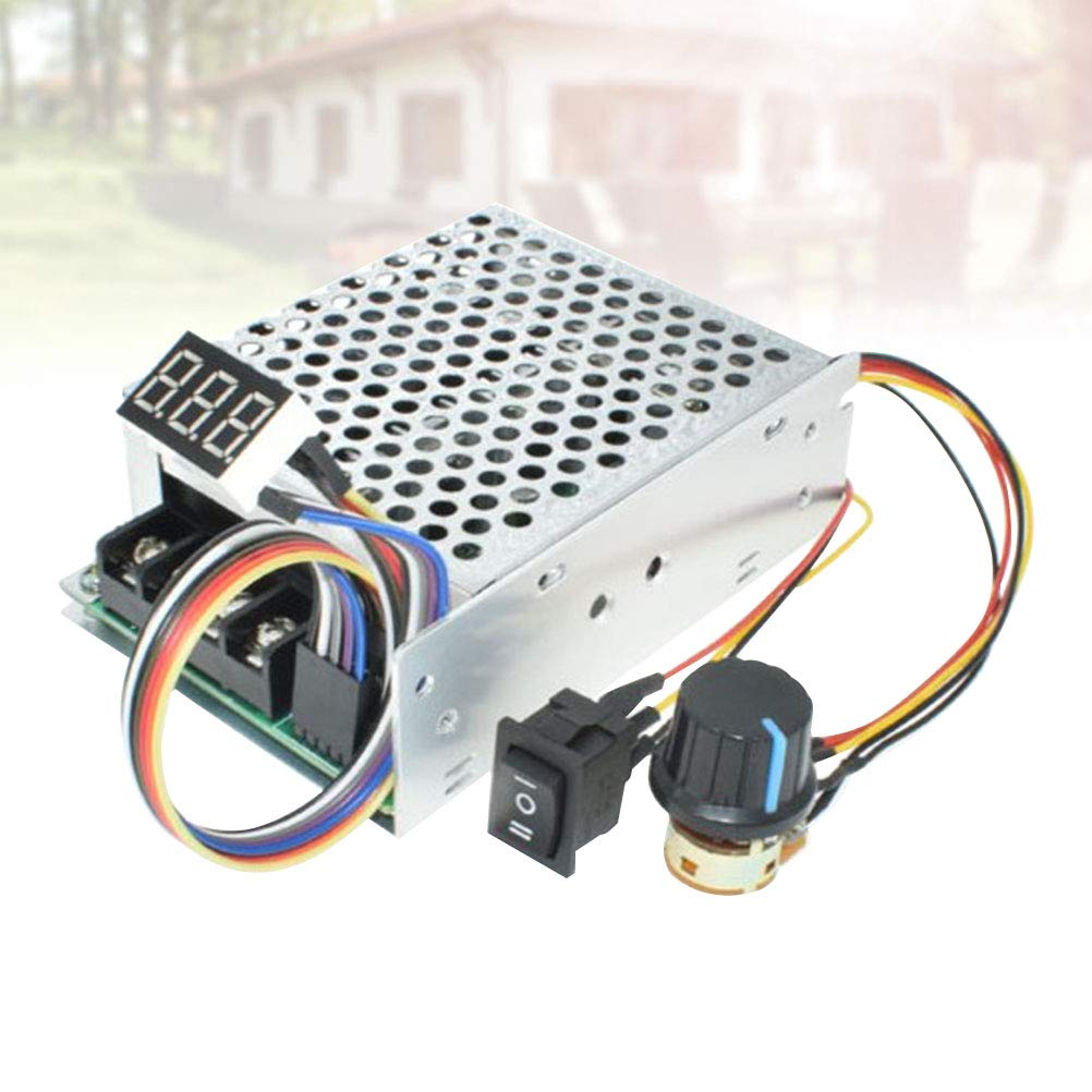 24V 36V Yardwe PWM-Geschwindigkeitsregler-Board Motor Driver Controller Elektronische Hochleistungsvariable DC12V 48V