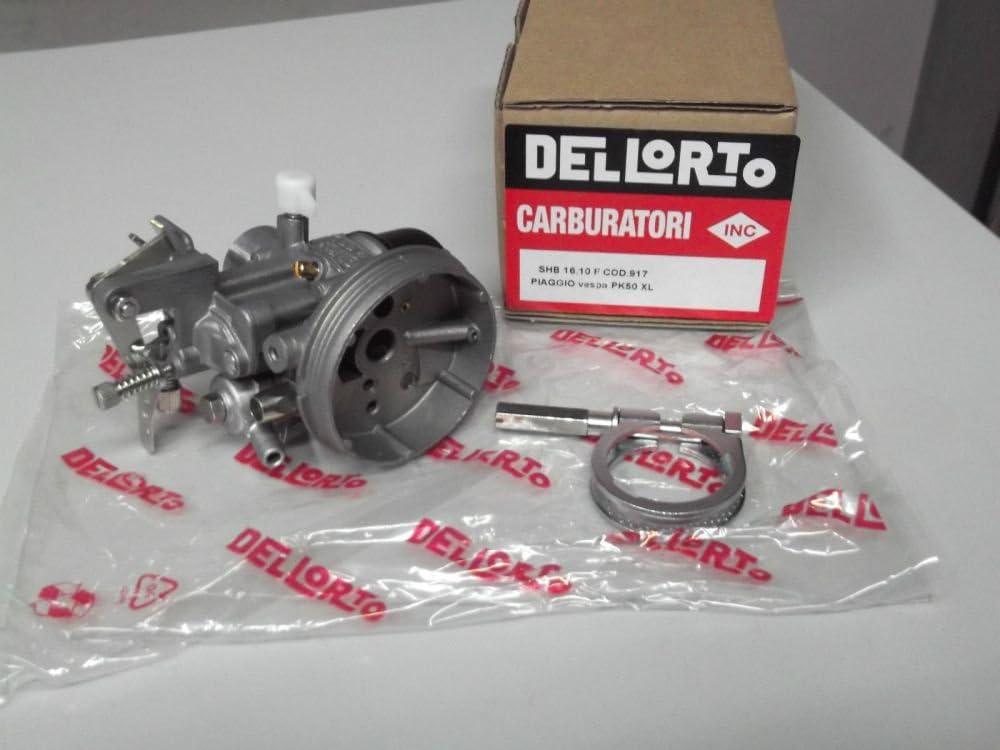 00917 CARBURATORE DELLORTO SHB 16.10 F PER VESPA PK 50 XL