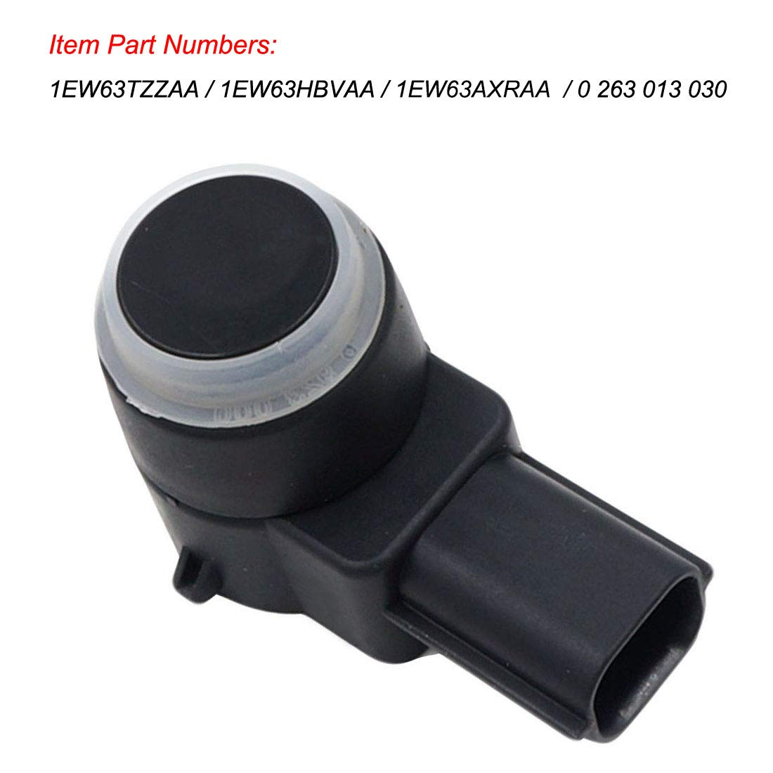 4PCS 1EW63TZZAA Bumper Object PDC Parking Assist Sensor Backup Reverse Sensor Fits for Chrysler Dodge Jeep