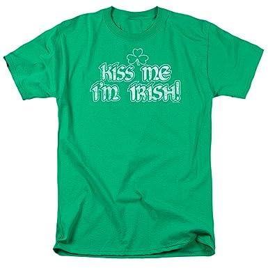 d5c6516abb65 Amazon.com: A&E Designs ST. Patrick's Day Shirt Kiss Me I'm Irish T ...