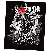 Sons of Anarchy Samcro Reaper Blanket Medium Weight - Queen Size