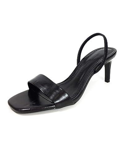 online store 58559 3f9bb Zara Damen Ledersandale mit Absatz 2330/001: Amazon.de ...