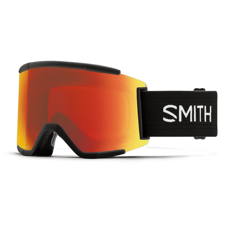 SMITH スミス スノーボード ゴーグル スカッド 17-18モデル SQUAD-XL 黒 (EVERYDAY 赤) F