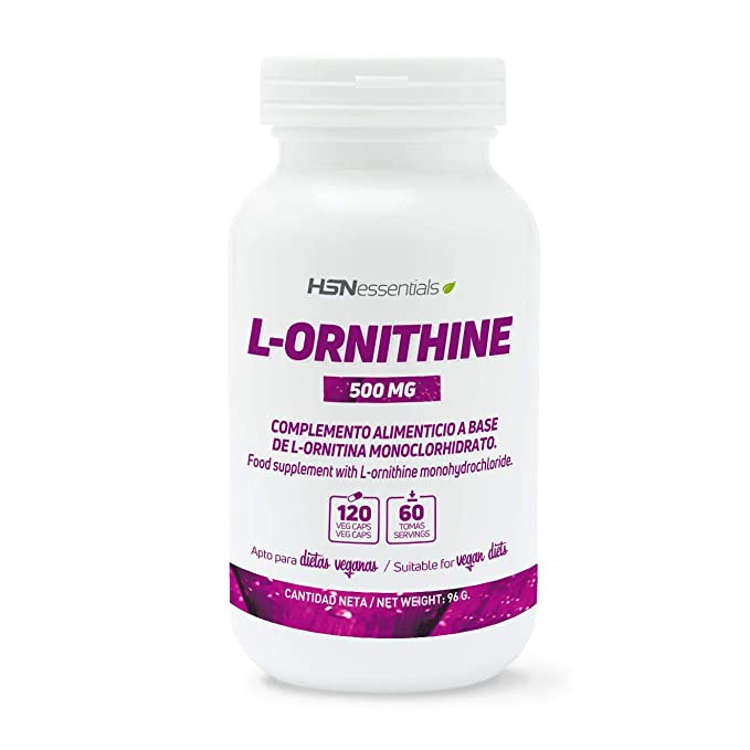 HSN Essentials - L-Ornitina - 500mg - 120 veg caps