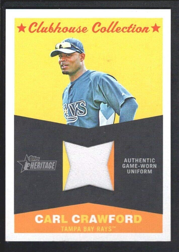Amazoncom Bigboyd Sports Cards Carl Crawford 2009 Topps Heritage