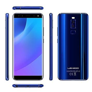 LEAGOO S8 5.72 Pulgadas sin Bordes 18:9 Pantalla Android 7.0 MTK6750T Octa Core 3GB